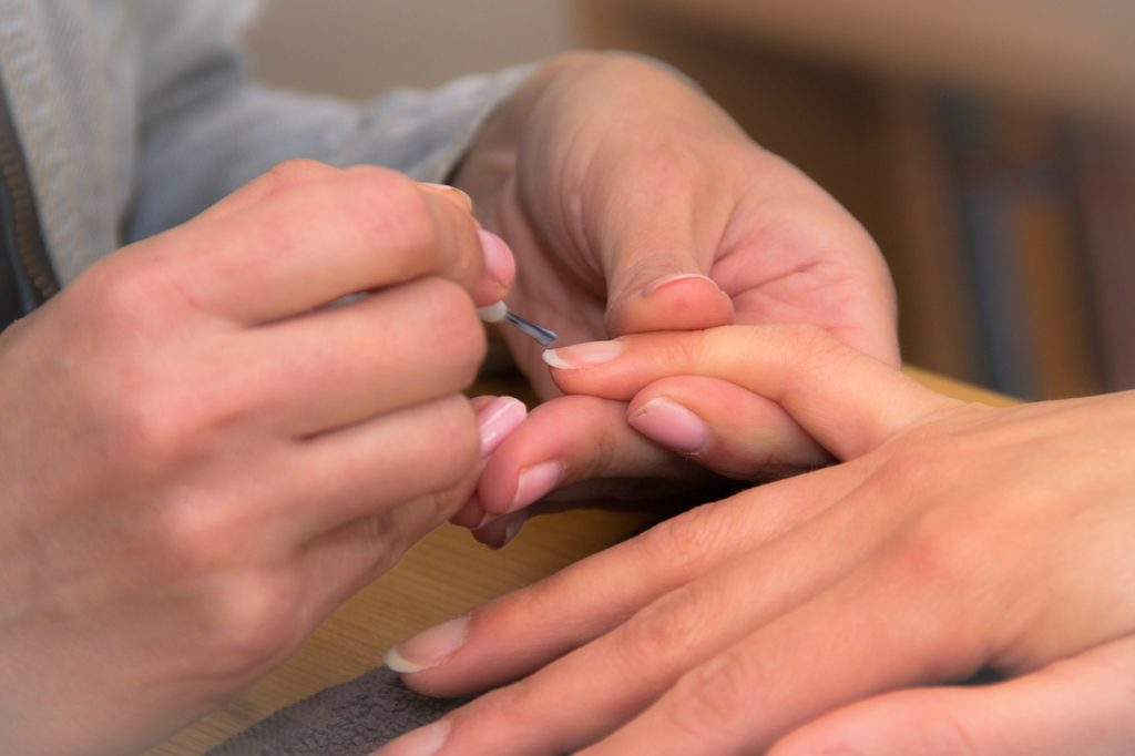fingers, nail, lacquer